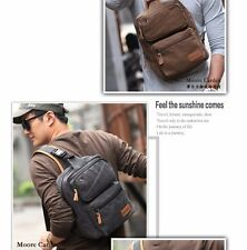 Multi-function Canvas Men's Shoulder Bags Crossbody Bag