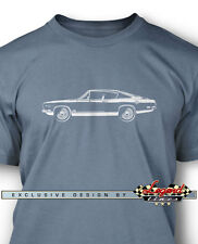 1969 Plymouth Barracuda 440 'Cuda Fastback Men T-Shirt - Multiple Colors & Sizes