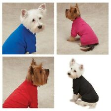 T-SHIRTS for Dogs Brightly Colored Dog Tshirt with Warm Elastic Neck Sleeves