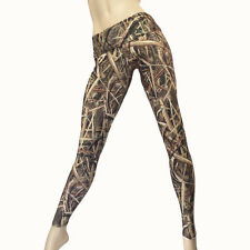 Camo Yoga Pants High Waist Pant Fold Over Camo Legging Camouflage Fitness Pants