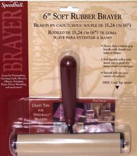 Speedball H41226 10cm . Deluxe Soft Rubber Brayer. Free Shipping