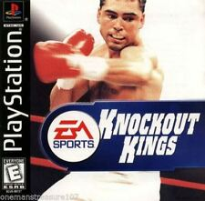 Knockout Kings PS1 Playstation 1 Tested