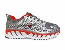 K-SWISS Men's BLADE-MAX™ ENDURE Running Shoes Grey/Silver/Red 02796-076 a4