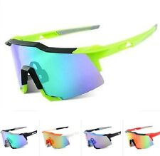 Cycling Sunglasses 2 Len UV400 Anti-UV HD Bicycle Goggles Bike Glasses with Case