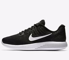 Nike LUNARGLIDE-8 MENS RUNNING SHOES,BLACK/ANTHRACITE/WHITE- US 10.5, 11 Or 11.5