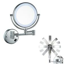 "8"" Swing Arm Wall Mounted 7x Magnifying Double Sided Make up Shaving Mirror"