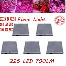 LOT New Mixed 225 LED Hydroponic Grow Light Panel Indoor Garden Plant Lamp MA