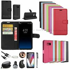 Leather Case Cover Wireless Headset Earphones Accessory For Samsung Galaxy Phone