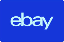 eBay Digital Gift Card - Electric Blue, One Card So Many Options  - Emailed