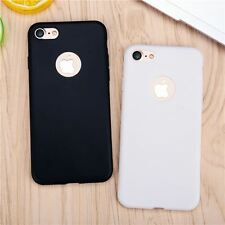 Solid Candy Color Matte Skin Case for iPhone 6 6s 7 Plus SE 5 5s Ultra Thin Soft