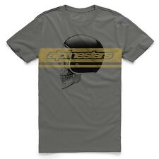 NEW WITH TAGS Alpinestars MIND Tee Shirt MEDIUM-2XLARGE CHARCOAL LIMITED RELEASE