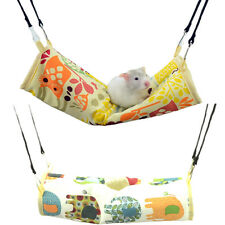 Hammock Tunnel Hanging Bed Cage 2 Styles BMG for Hamster Gerbil Mice Rat Rodents