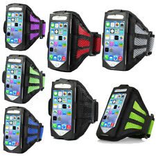 Premium Running Jogging Sports Mesh Armband Gym Case Cover For iPhone 6/6s gbm