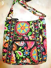 VERA BRADLEY DISNEY Large Hipster Midnight With Mickey TAG Crossbody Purse Bag