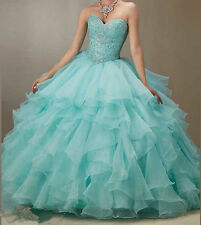 New Beaded Quinceanera Dress Bridal Cocktail Party Prom Dresses Ball Gown Custom