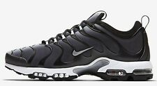 Nike AIR MAX PLUS TN ULTRA MEN'S SHOES, BLACK/GREY/WHITE/SILVER- US 6,7,8 Or 8.5
