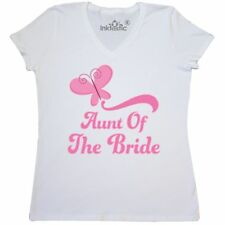Inktastic Aunt Of The Bride Wedding Women's V-Neck T-Shirt Gift Bridal Party Hws