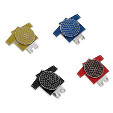 Magnetic Hat Clip with Golf Ball Marker Suits Golf Hat or Visor