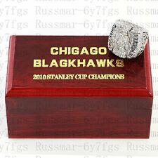 2010 Chicago Blackhawks Stanley Cup Championship Copper Ring Size 10-13 Solid