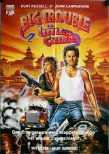 Big Trouble in Little China German video movieposter DinA1 Kurt Russell Cattrall