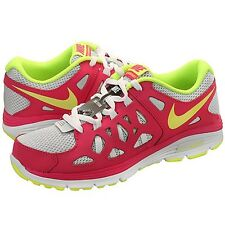 Nike Dual Fusion Run 2 (GS) 599793-005 Volt-Pink Girls/Wmns New Select Ur Size