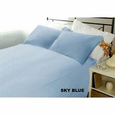 Hotel Bedding Collection-Duvet/Fitted/Flat 1000TC Egyptian Cotton Sky-Blue