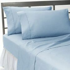 US Choice Bedding Items-Duvet/Fitted/Flat 1000TC Egyptian Cotton Light Blue