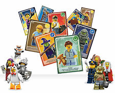 61 - 120 SAINSBURYS LEGO CARDS CREATE THE WORLD 99p FREE AND FAST P&P