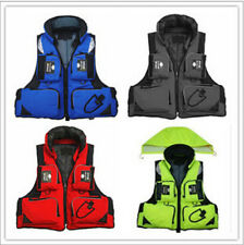 Adult Buoyancy Aid Sailing Swimming Kayak Boating Life Jacket Vest 5 Colors HOT