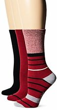 Timberland Women's Stripe and Solid Crew Sock 3-Pack Assorted - Choose SZ/Color