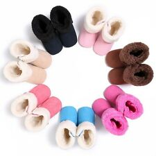 Baby Girl Boy Soft Sole Warm Snow Boots Infant Toddler Newborn Crib Shoes 0-18M
