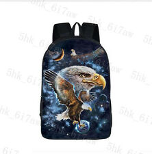 Galaxy Space Wolf  For Teenager Girls Boys Universe Space Starry Night Sky bag