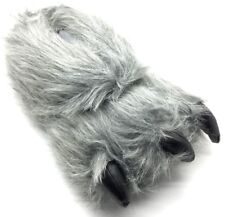 Unisex Novelty Monster Claw Animal Slippers Grey