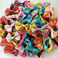 New Small Pet Puppy Dog Cat Hair Bows with Clip Dogs Grooming hairpins