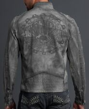 Affliction THE LEGEND Jacket XL NWT NEW Skull