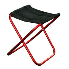 Portable Aluminum Folding Chair Stool Seat Outdoor Fishing Camping Picnic Garden