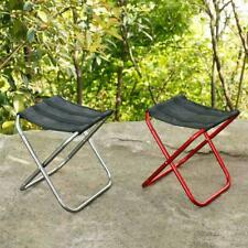 Small Outdoor Folding Seat Camping Hiking Fishing Stool Picnic Lawn Beach Chair
