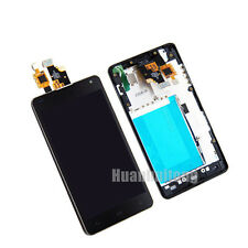 LCD Display Touch Screen Digitizer Replacement For LG Optimus G E975 E973 +Frame