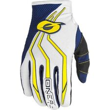 NEW Oneal 2018 Youth MX Element Blue Yellow Kids Dirt Bike BMX Motocross Gloves