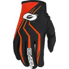 NEW Oneal 2018 Youth MX Element Black Orange Kids Dirt Bike BMX Motocross Gloves
