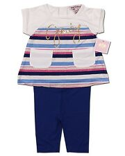 New Juicy Couture Kids Baby Girl Knit Set Size 3-6 to 18-24