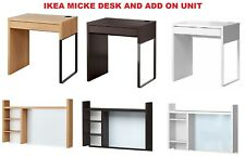 Ikea MICKE 1 Drawer Computer Desk Home Office Workstation 3 Colours BRAND NEW
