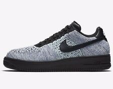 Nike AIR FORCE-1 FLYKNIT LOW MEN'S SHOES,BLUE/WHITE/BLACK-Size US 10, 10.5 Or 11