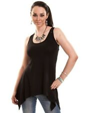 Innocent UK Amber Lace Tunic Top Black Gothic Alternative Punk Boho Tee Shirt