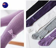 Girls Baby Kid Cotton Warm Bottoms Pants bow Tights Leggings Stocking 0-12months