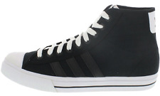 NEW Adidas Originals Aditennis High Sneakers Trainers Shoes Unisex Black 666893