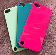 For iPod Touch 5th / 6th Generation -Hard TPU Rubber Gummy Skin Shell Case Cover