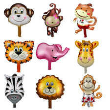 9 Type Animal Head Shape Design Foil Balloon Zoo Party Supply Baby Decoration