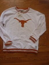 VICTORIAS SECRET PINK BLING COLLEGIATE TEXAS LONGHORNS SWEATSHIRT SOLD OUT NWT