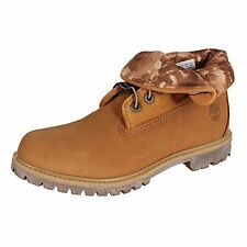 Timberland A13Z0 W/L  Womens Authentic Roll Top Boots USBrown- Choose SZ/Color.